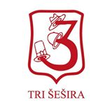 Restoran Tri šešira Skadarlija logo